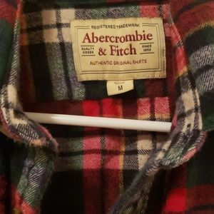 Abercrombie & Fitch Shirts - Abercrombie and Fitch long sleeve flannel